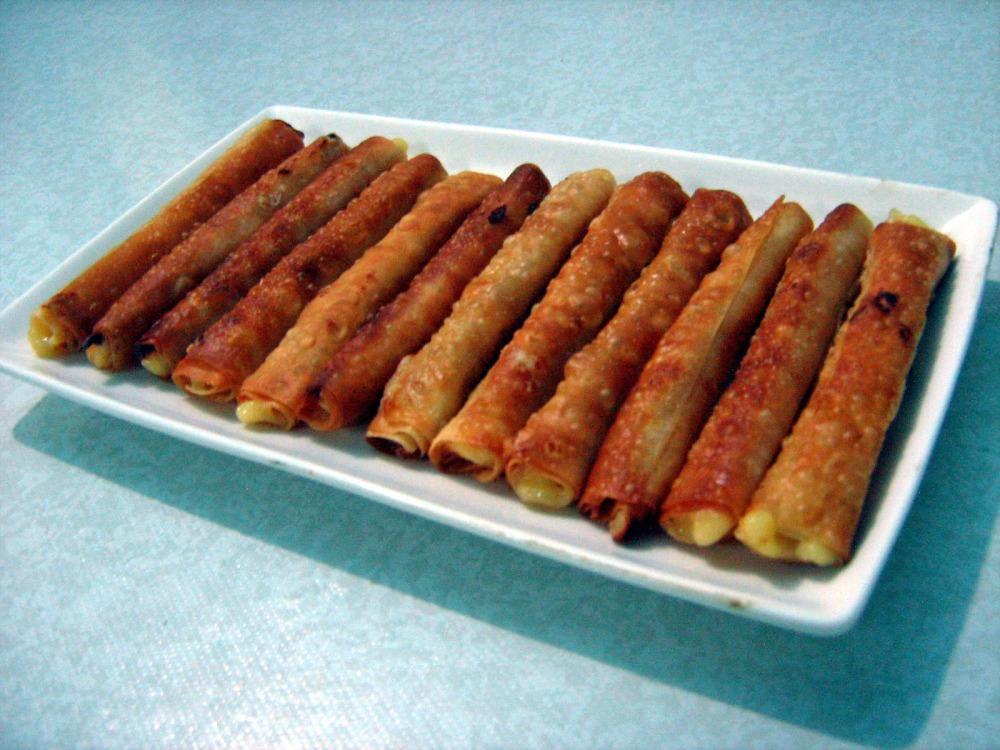 food recipe: NANAY's HAM & CHEESE STICKS  (2/4)