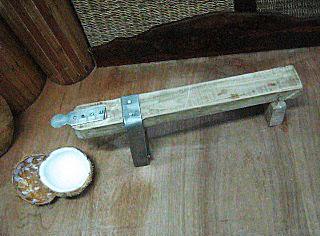 food tool: KUDKURAN (Coconut Grater) (2/2)